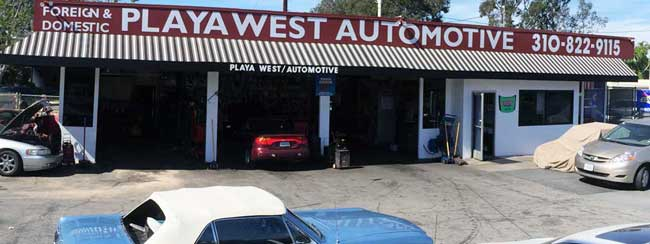 Playa West Automotive front image